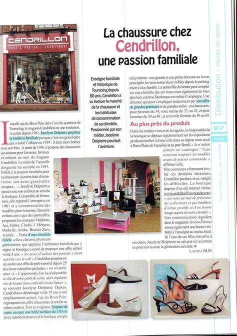 magasin chaussure cendrillon oignies
