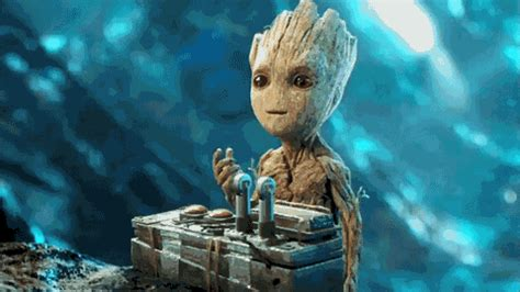 25 Cutest Groot GIFs That Will Make You Adore Him Even More