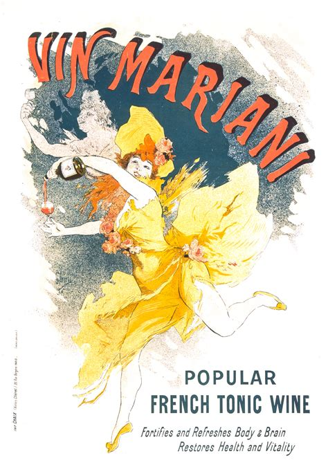 Vin Mariani Poster By Jules Chéret From 1894