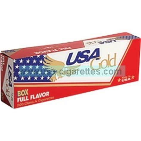 USA Gold Red 100's cigarettes - Cheap Cigarettes Online